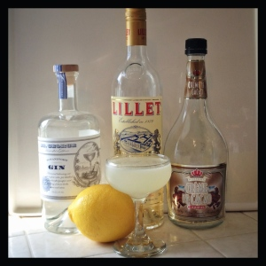 the 20th Century Cocktail and its ingredients
