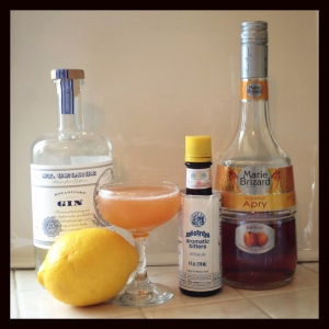 The Barnum Was Right Cocktail and its ingredients, save Angostura Orange Bitters