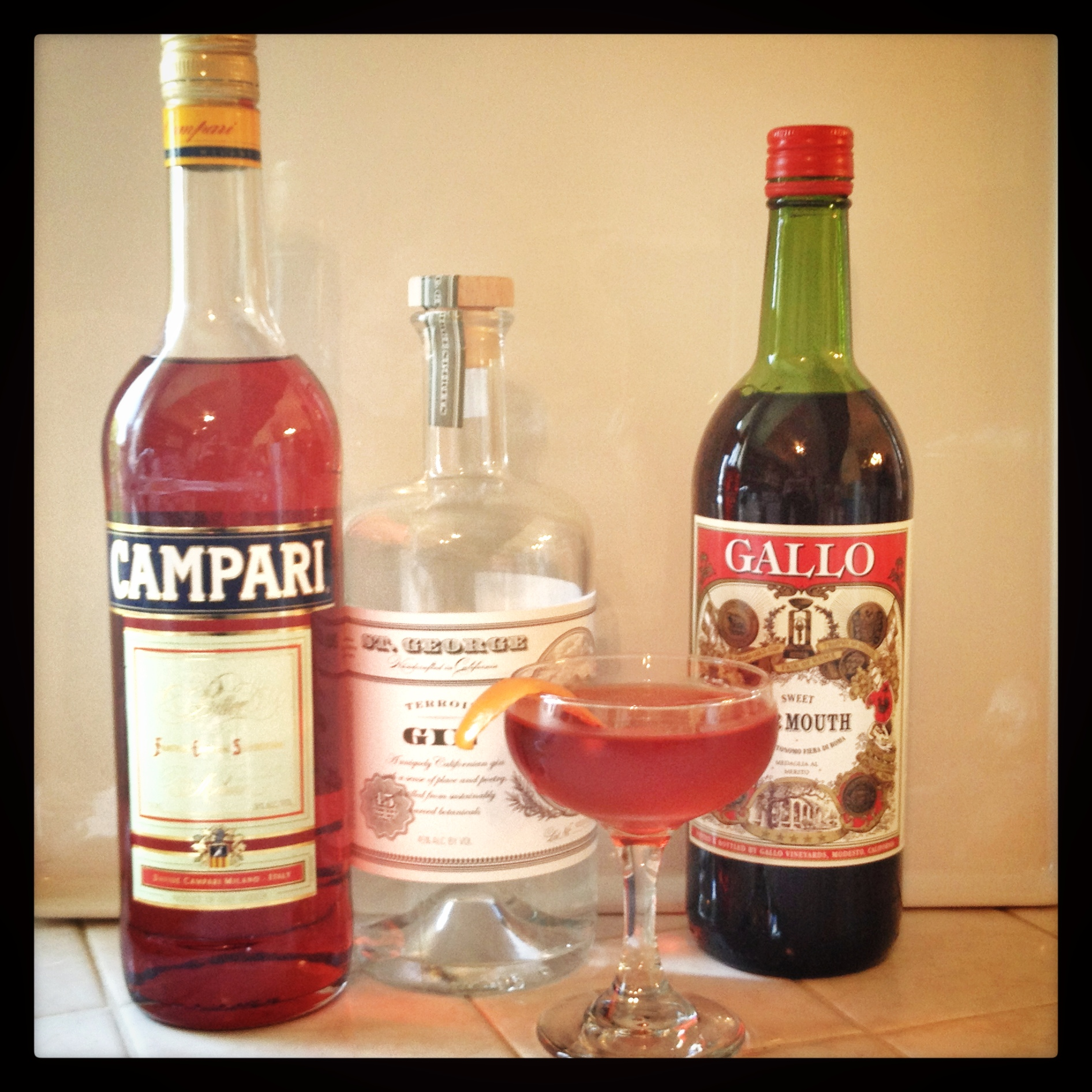 The Negroni & Americano Cocktails | The Cocktail Explorer
